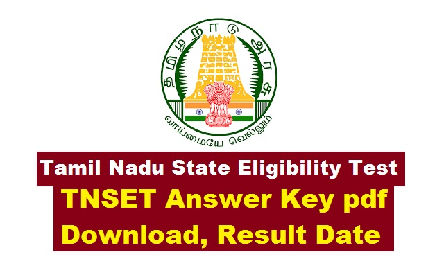 TNSET 2018 Exam Application online Apply Now