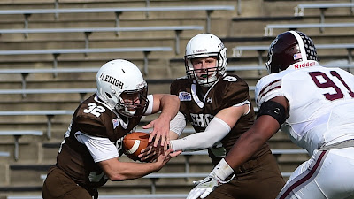 Chase Who?  Shafnisky, Bragalone Combine for 6 Rushing TDs, Beat Fordham, 58-37