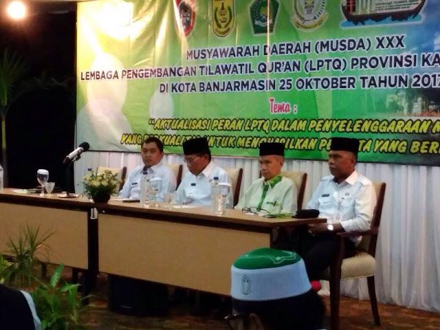 Musda LPTQ: Peran Penting LPTQ Lahirkan  Qori Berprestasi