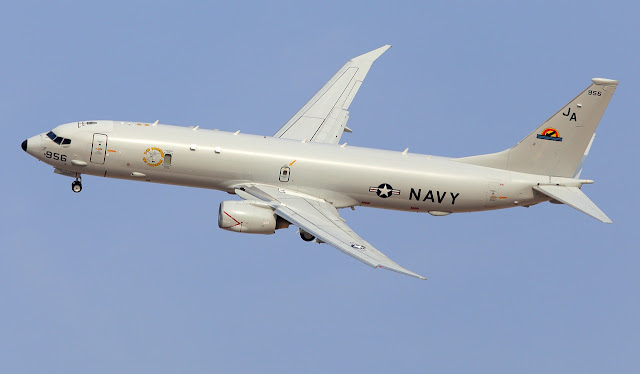 Boeing P-8A Poseidon of US Navy
