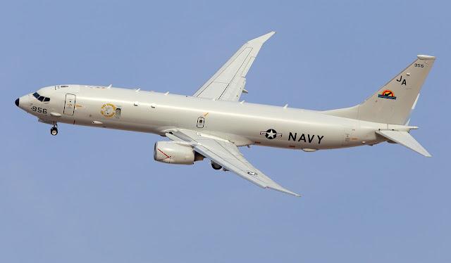 Boeing P-8A Poseidon of US Navy