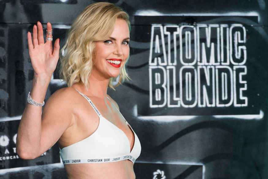 Charlize Theron Attends 'Atomic Blonde' World Premiere In Berlin