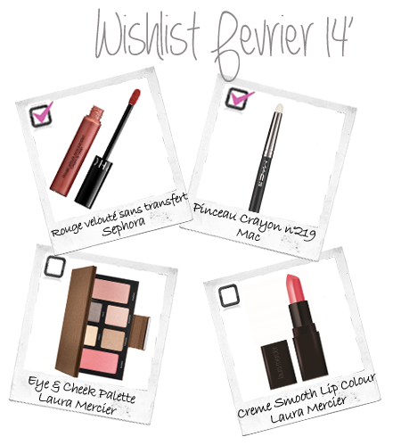 wishlist beaute laura mercier mac sephora