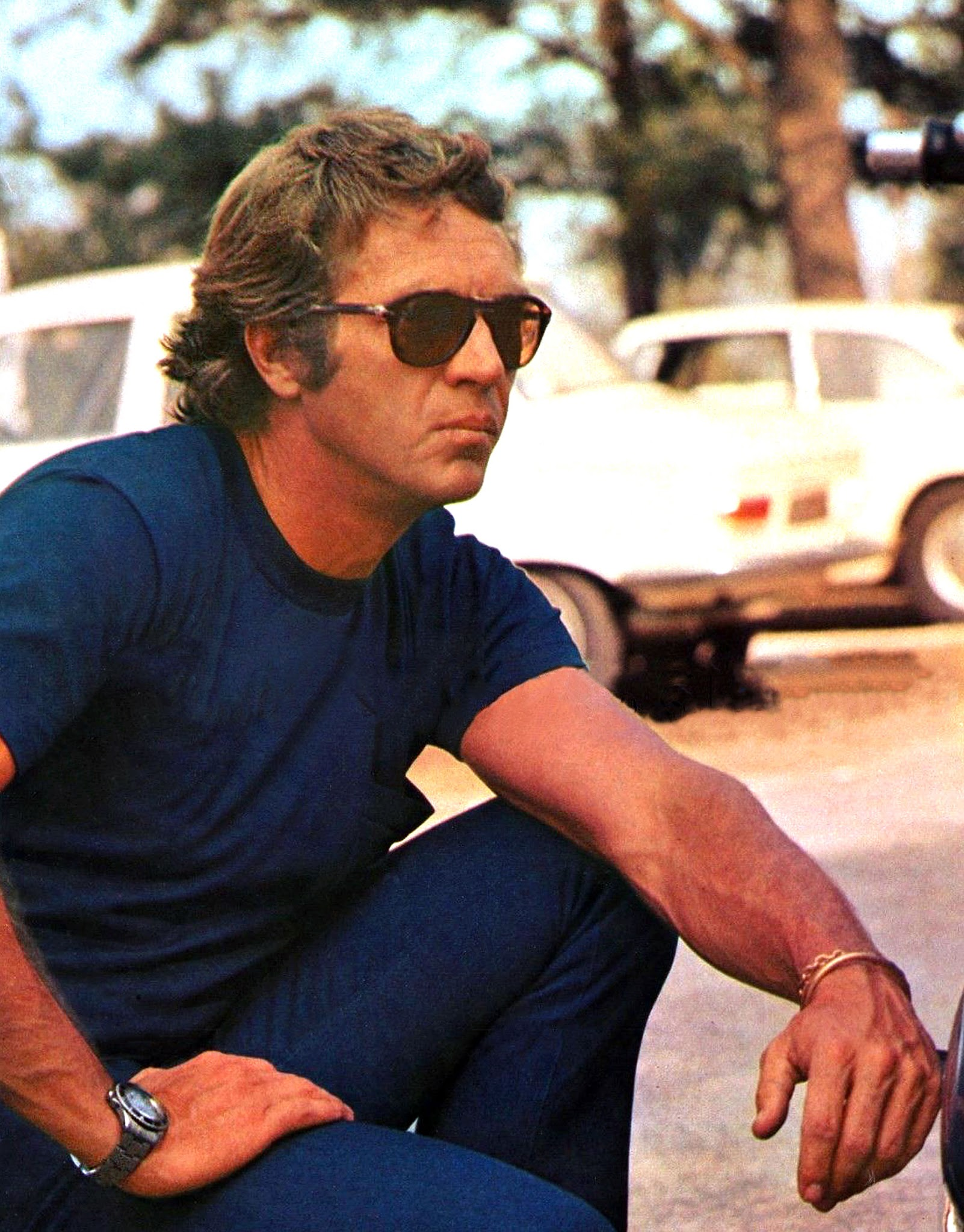 6abb3e32f5 ... Rolex Submariner with his super-cool fold-up Person Sunglasses. I first  began chronicling Steve McQueen wearing Rolex Submariner models back in  2008 in ...