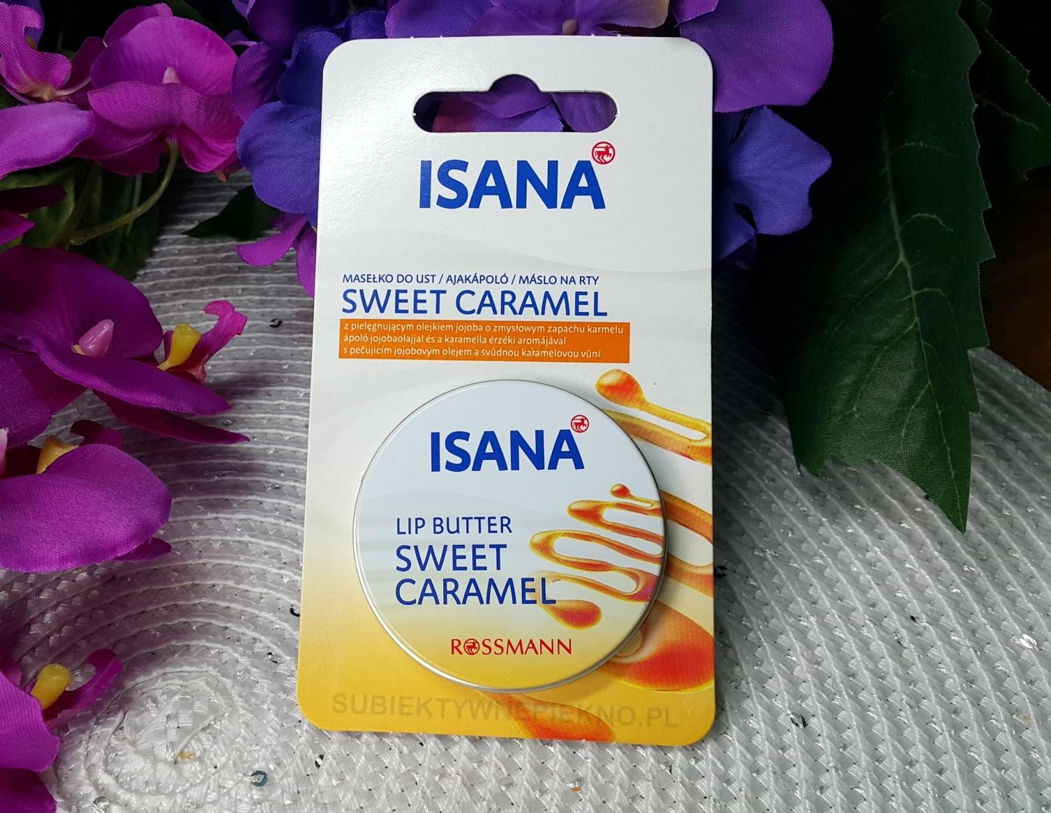 Karmelowe masełko do ust Isana