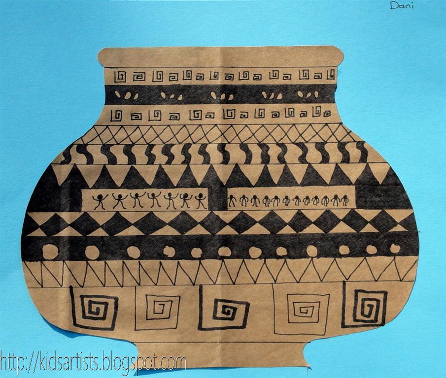 Kids Artists: Greek Pottery