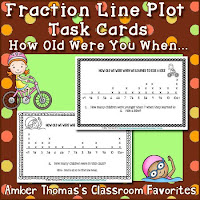 https://www.teacherspayteachers.com/Product/Fraction-Line-Plot-Task-Cards-Differentiated-4289561