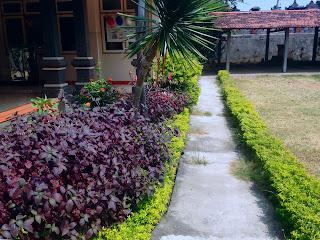 Garden In Santi Graha Seririt Hospital