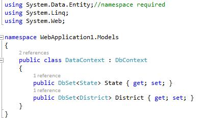 Adding context class