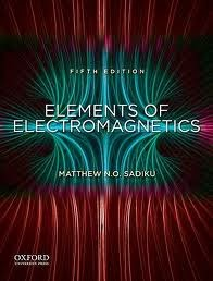 elements of electromagnetics 5th edition solution manual