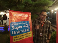 Peluncuran Produk Baru Smartfren Unlimited Internet 24 jam