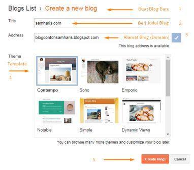 Cara Membuat Blog dari Awal sampai Menghasilkan