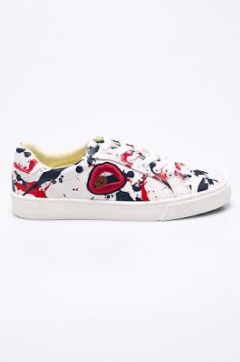 Wrangler - Pantofi Peggy de dama cu imprimeuri moderne