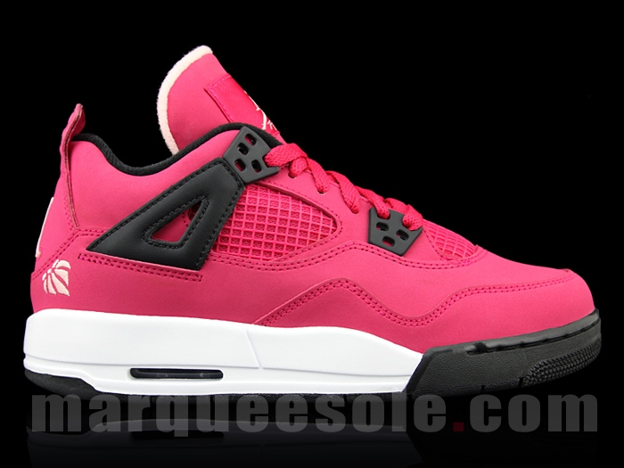 "premium selection 2dc57 75540 Alright ladies, Jordan has got a little treat for y all -the Air Jordan 4 GS  ""Voltage Cherry."