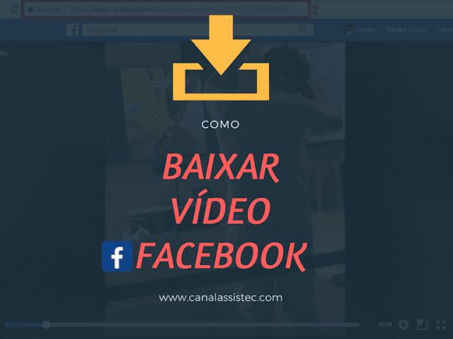 Como baixar vídeos do Facebook