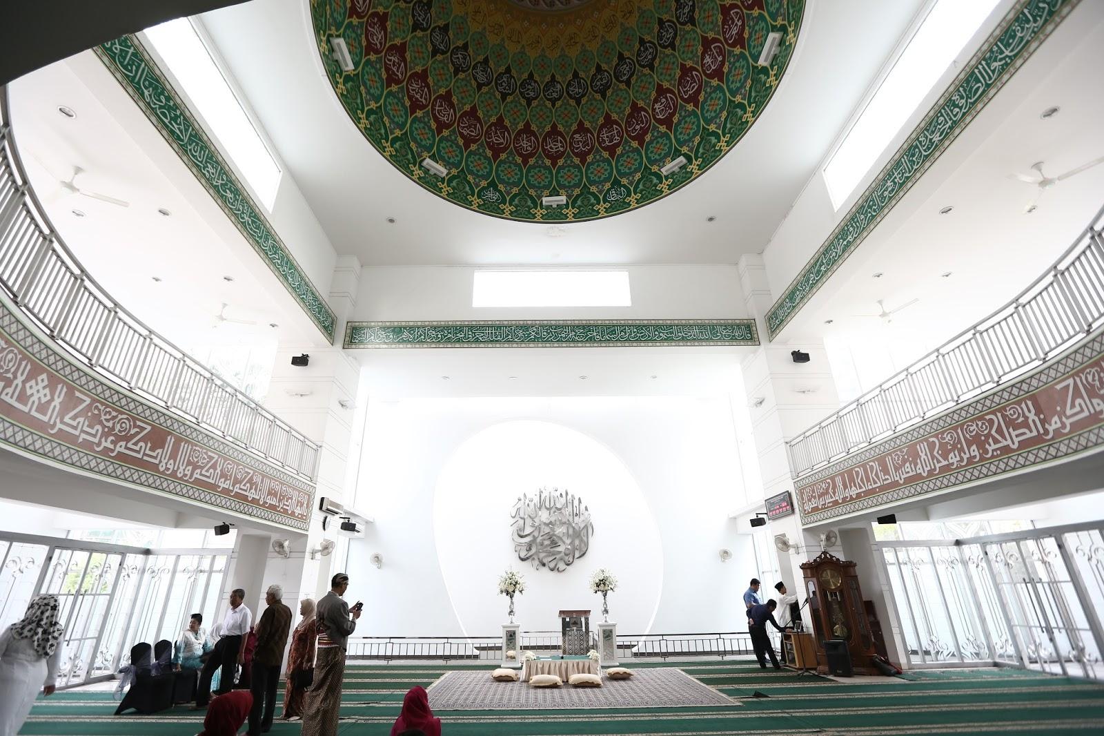 contoh dekorasi akad nikah di masjid