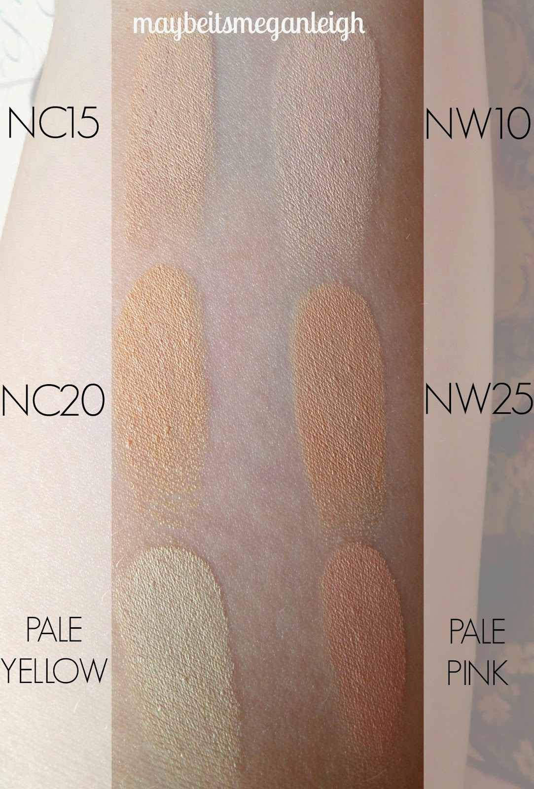 Conceal And Correct Palette by MAC #10