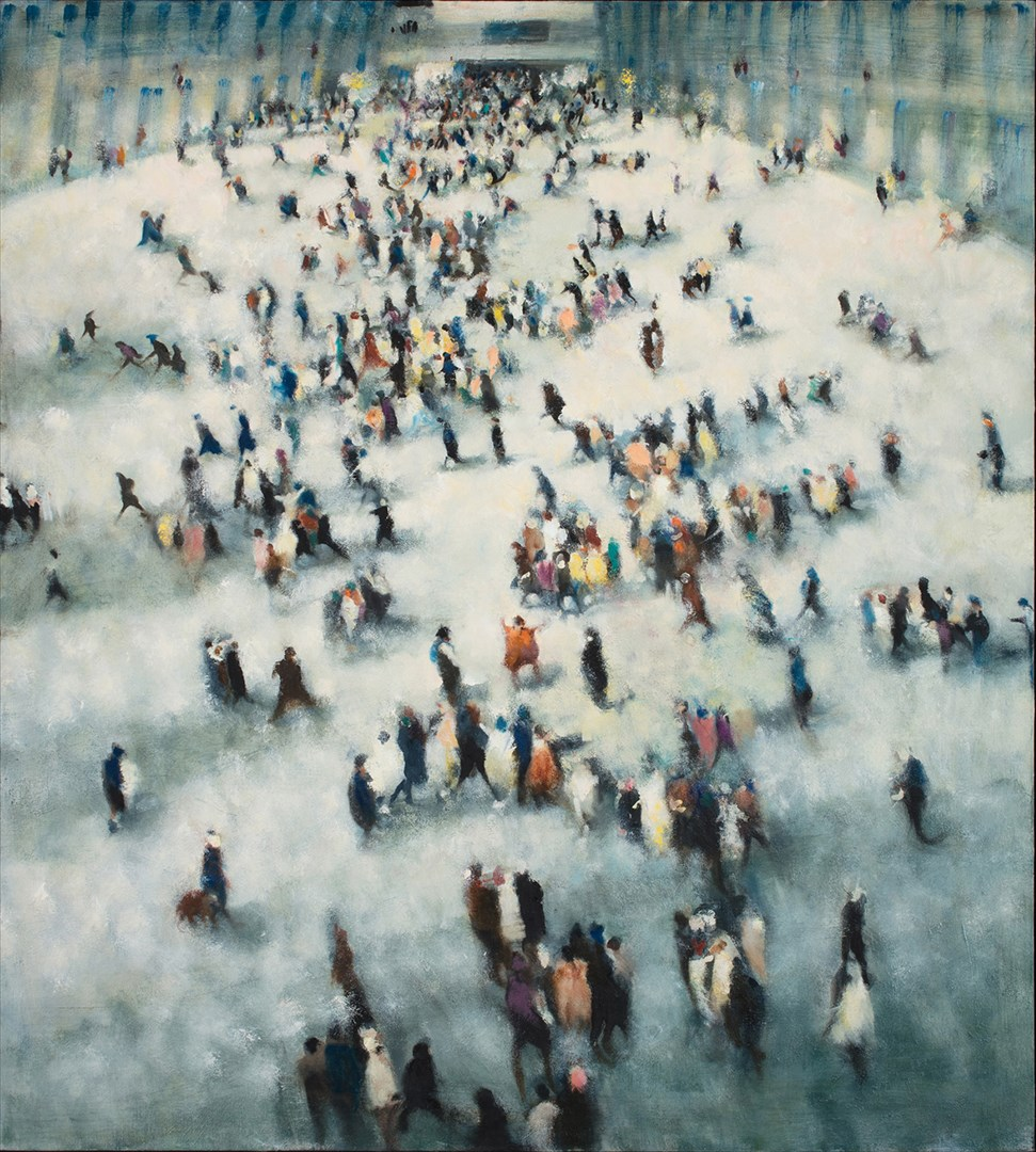 Hub 1 - Bill Jacklin RA,  Royal Academy Summer Exhibition 2017