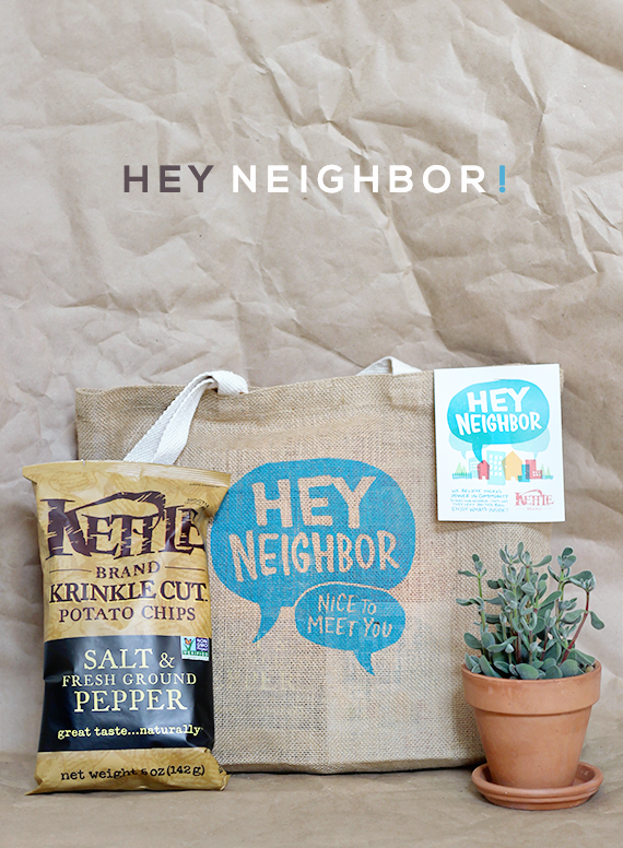 Do You Know Your Neighbors? (+ a Giveaway from Kettle Brand!)