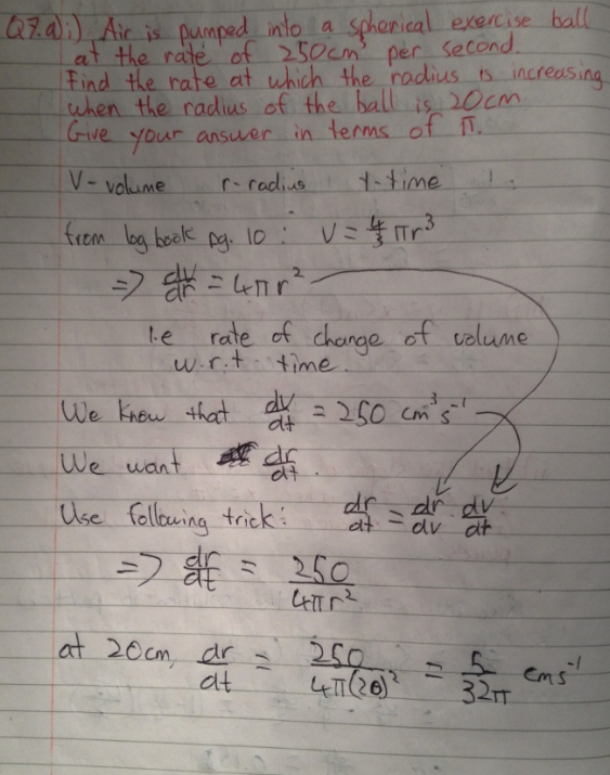 Leaving Cert Project Maths Paper 1 Solutions 10