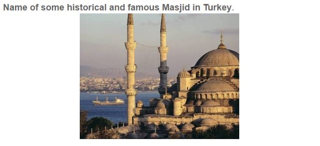 historical and famous masjid in the world 2020