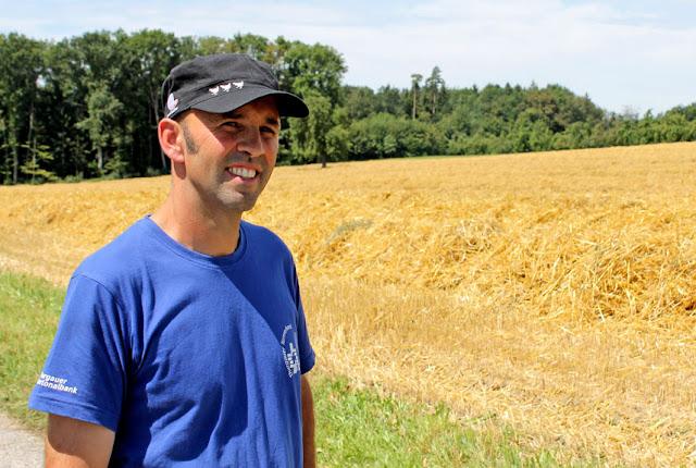 Chez Bio Suisse: Thomas Vetsch, Knospe-Produzent aus Hattenhausen TG