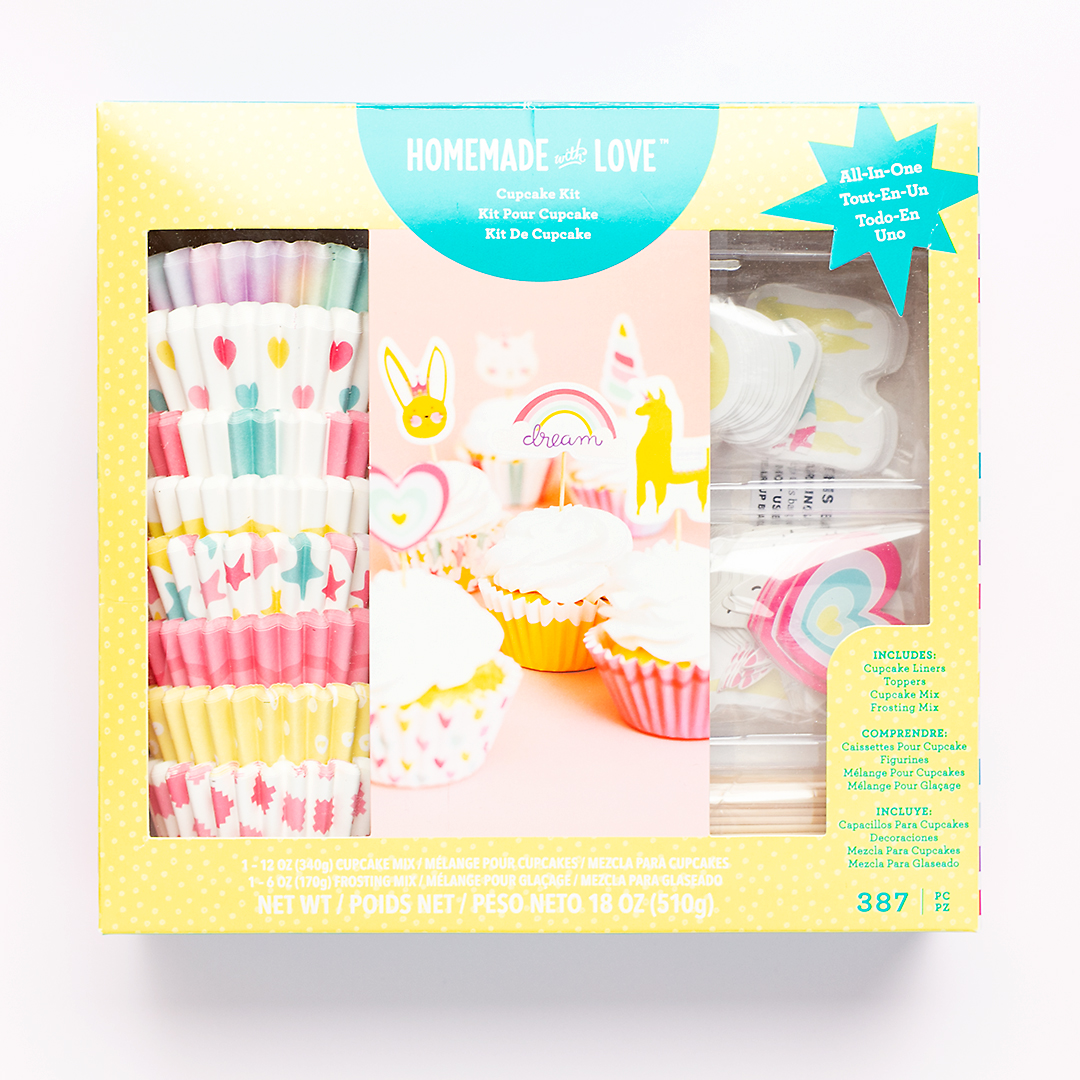 American Crafts | Homemade With Love | Cupcake Kit | Michaels Stores