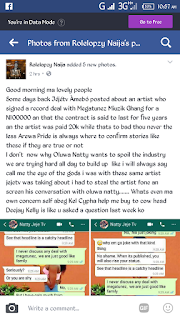 [GIST] Between Arewa Pride Blog and JejeTv Blog (Screenshots)