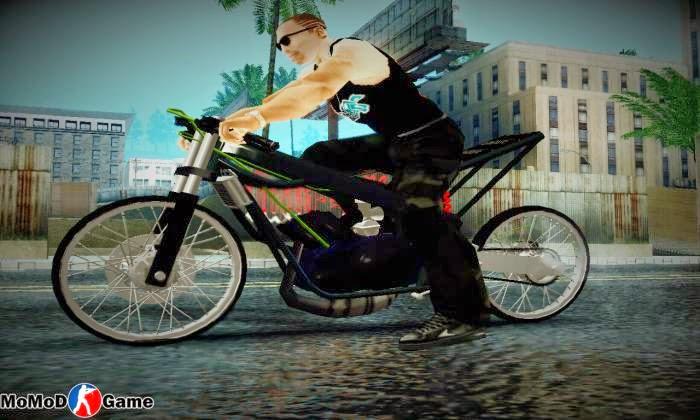 Ninja Drag 150R Mod GTA San Andreas