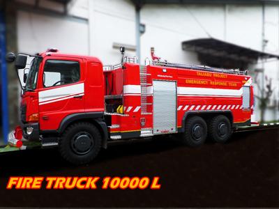 fire truck ayaxx 10000 liter