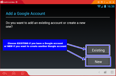 Droid4x Google Account