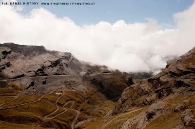 Droga Śmierci w Andach
