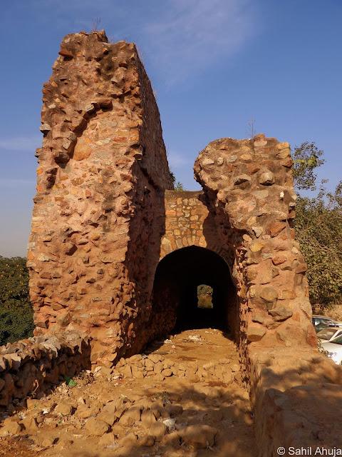 Modern Pig Sty: Pixelated Memories: Siri Fort Remains, New Delhi
