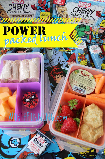 Worth Pinning: Power Packed Lunches with Easy Turkey Roll Ups