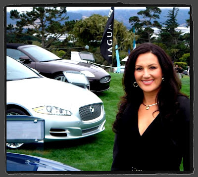 Jaguar Exhibit during Pebble Beach Concours d'Elegance