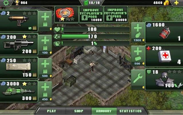 Zombie Shooter: Game Laga Paling Ringan