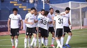 نادي الجونة يفرض التعادل الاجابي على فريق حرس الحدود في الدوري المصري