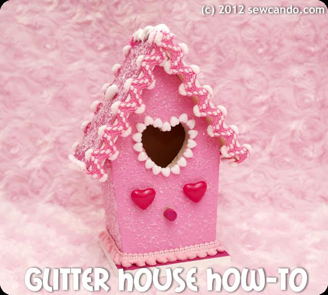 photo glitter house