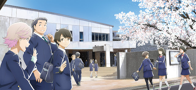 Download OST Openig Ending Insert Song Anime Tsuki ga Kirei Full Version