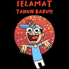 [Big Stickers] Dalang Pelo!