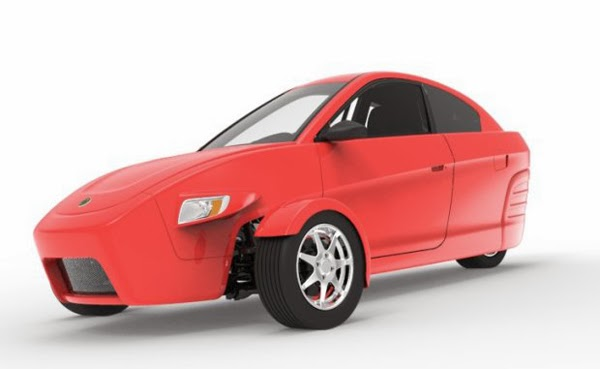 three wheeled car by elio motors spicytec. Black Bedroom Furniture Sets. Home Design Ideas
