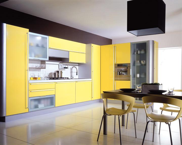 cuisine decoration style moderne. Black Bedroom Furniture Sets. Home Design Ideas