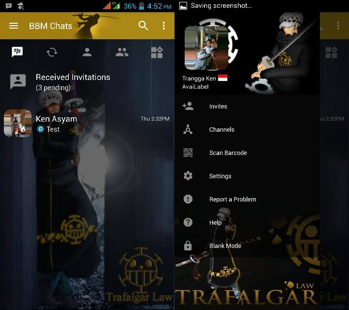 BBM MOD Trafalgar Law (One Piece) v3.2.5.12 APK