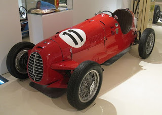 Giacosa's Cisitalia D46 racing car, which he designed for the entrepreneur and racing driver Piero Dusio