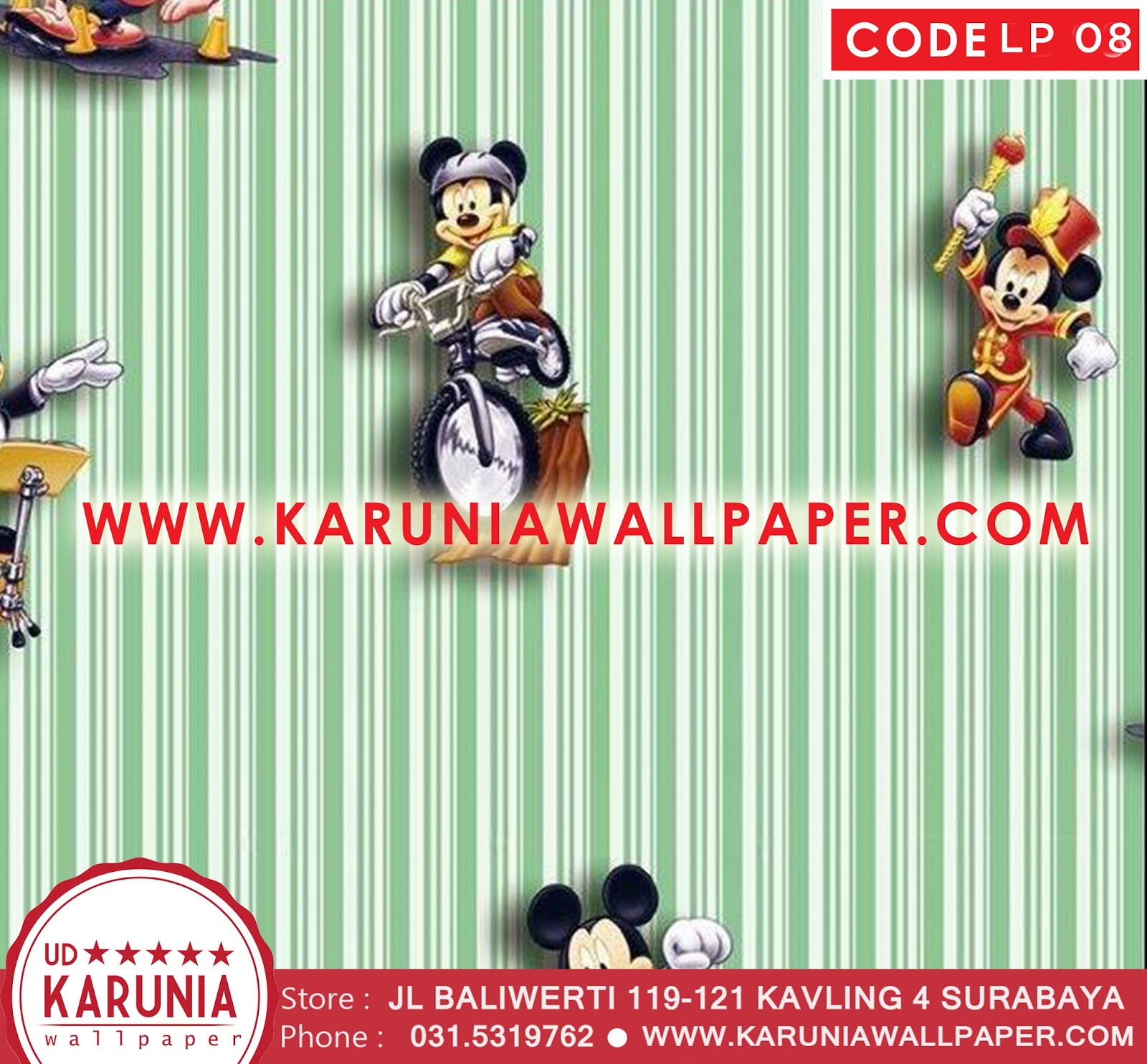 jual wallpaper disney murah