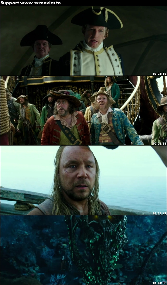 Pirates of the Caribbean Dead Men Tell No Tales 2017 English 720p BRRip 950MB ESubs