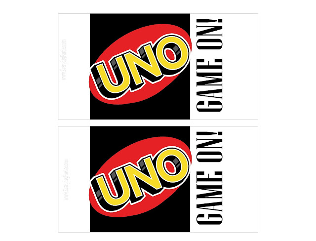 Uno Card Kit Kat Candy Bar Wrapper