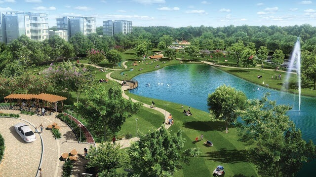 Công viên cây xanh cực đẹp.