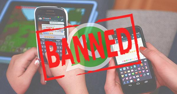 10 اشياء سيتم حظرك بسببها بشكل مؤقت أو دائم على الواتس آب