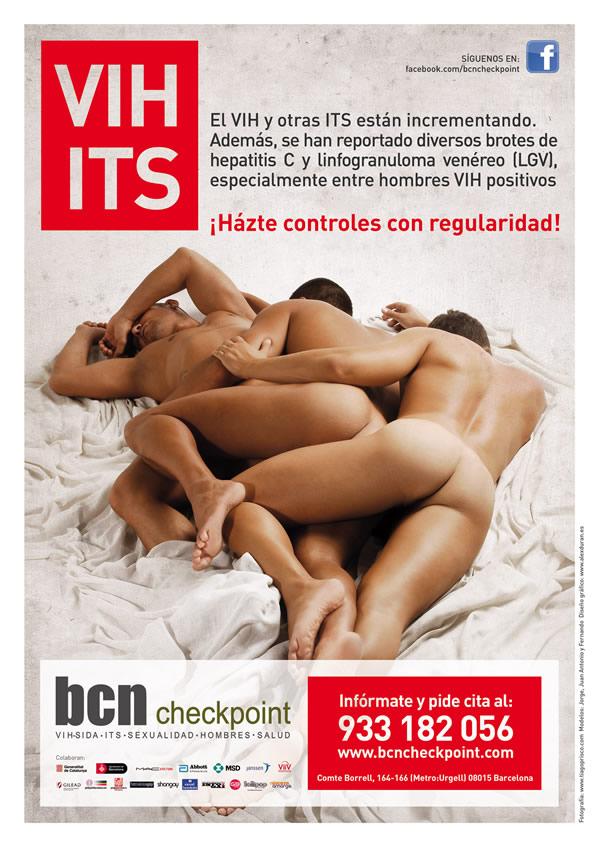 campañas prevención VIH hombres homosexuales sexo con hombres Checkpoint BCN